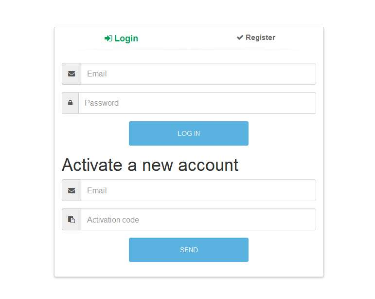 Secure login and registration system php